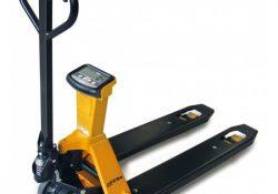 Smart palleløfter med vægt gør det nemt for dig at veje pallerne på lageret